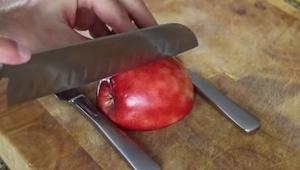 Sammenstød med et æble, noget der kan overraske dine gæster under middagen!