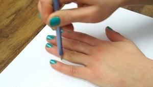 Dette trick til at tegne efter hånden er super, det skal prøves!
