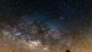 Han lavede optagelser af himlen igennem 7 dage; det han så, er ubeskriveligt.