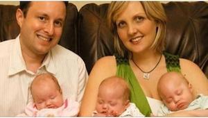 Forældrene holdt deres tre døde børn i armene, efter at de var døde på en tragis