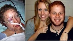 For 3 år siden var hendes tidligere kæreste næsten ved at slå hende ihjel.  Nu h