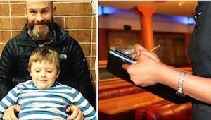 Manden forlod sin kone og to børn. 30 år senere minder servitricens ansigt ham o