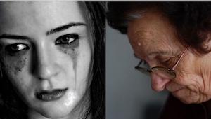 Da hendes barnebarn fortalte hende grædende, at livet er for hårdt, viste bedste