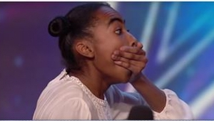 Den 14-årige pige dukkede op til en casting til en talentshow. En 39 sekunders o