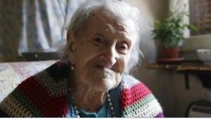 Dette er den sidste nulevende person, som er født før år 1900! Hvad tror I er he