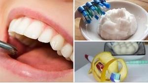 6 husråd, som hjælper dig med at blive fri for plak og tandsten. Billigt, hurtig