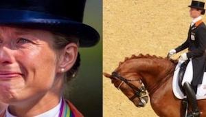 Da hun så, at hestens hoved begyndte at svulme op, måtte hun træffe en beslutnin