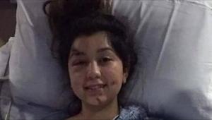 24 timer efter den frygtelige ulykke, hvori hendes mand og ufødte søn omkommer..