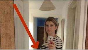 Denne kvinde tager en selfie. 6 måneder senere gør billedet, at hun begynder at