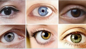 Hvad er din øjenfarve? Se her, hvad videnskaben siger om dig!