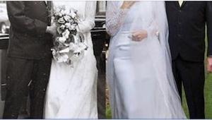 Da deres børn og børnebørn så dem på deres 50. bryllupsdag, kunne de ikke tro de