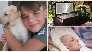 Der var ikke nogen der troede, at sønnen til en kræftsyg kvinde ville reagere på