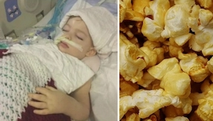 Forældrene til den afdøde pige appellerer til alle, som passer børn. Vær opmærks