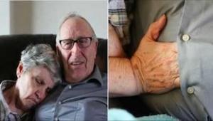 Han forklarede, hvorfor hans kone altid putter hånden ind under hans skjorte. De
