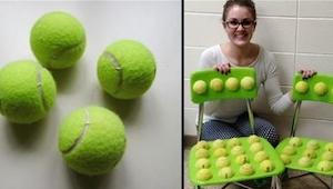 Da læreren limede tennisbolde til stolene, regnede hun ikke med sådan en ændring