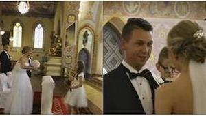 Denne video fra et ungt pars bryllup er set af mere end 6 millioner mennesker. G