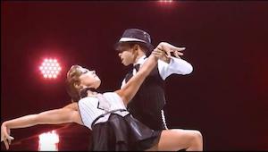 Vi har svært ved at tro at et barn virkelig kan danse som en professionel danser
