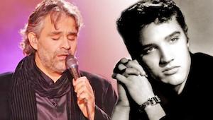 Du bliver nødt til at høre Andrea Bocelli synge et Elvis hit - det er utroligt!