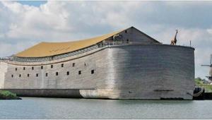 Tømreren brugte 7 år på at bygge denne enorme ark - indvendigt får den dig til a
