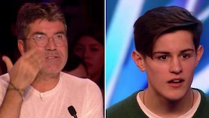 Den største fan af denne 16 årige kunne ikke være med til hans audition - så beg