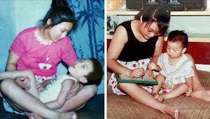 En enlig mor ønskede ikke at opgive en handicappet søn. 29 år senere blev han et