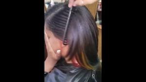 Jeg ved ikke hvordan frisøren fik DENNE effekt, men jeg vil også have den!