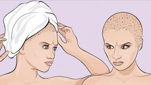 Når du kommer ud fra bruseren pakker du dit hår med et håndklæde? Så  gør du det