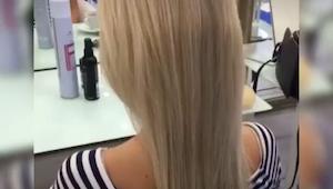 Hun bad om en fantastisk frisyre til bryllupet... Se hvad frisøren fik ud af det