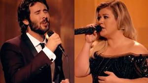 Når jeg hører denne duet med Josh Groban og Kelly Clarkson, får jeg tårer i øjne
