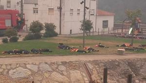 13 brandmænd sov under branden. Da jeg hørte hvorfor, kunne jeg ikke skjule min