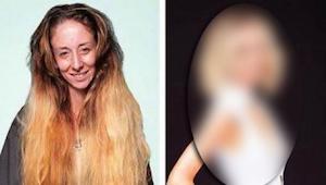 Kvinden bad om at få lavet en helt ny frisure til et bryllup. Efter 7 timer i sa