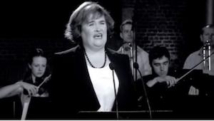 Lyt til den smukkeste version af Unchained Melody sunget af selveste Susan Boyle