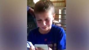 Den 9-årige kæmpede i skolen og arbejdede hårdt på familiens gård, som tak gav h