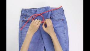 7 små tricks der gør, at du kommer til at elske dine jeans; og bare, hvor hurtig