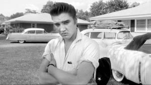 Elvis Presleys første optagelse fra dengang han bare var lastvognschauffør og sk