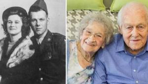 De har været gift i 80 år og opfører sig stadig som forelskede teenagere. I dag