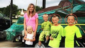 Hun efterlod to af sine sønner uden tilsyn på grund af en frygtelig smerte i ægg