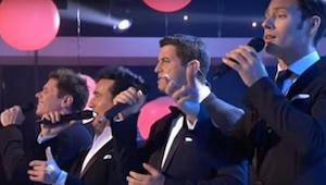 Hvordan disse 4 mænd synger en Whitney Houston sang vil gøre dig glad! Formidabe