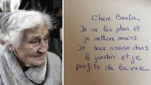 Et brev skrevet af en 83-årig vil få dig til at revurdere hele dit liv.