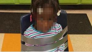 Forældrene så tilfældigt et billede deres hendes datter som var taget af børneha