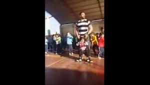 Den handicappede pige nægtede at føle sig forbigået under skolens danseopvisning