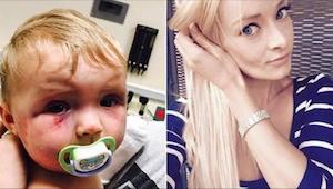 En kvinde slog en 8 måneder gammel baby. Hendes straf chokerede offentligheden.