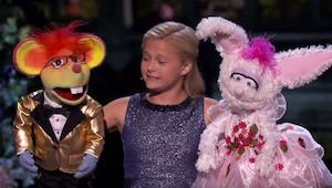 Den syngende bugtaler overgik sig selv i finalen til programmet Got talent!