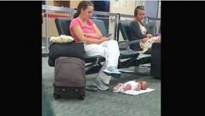 Udmattet mor blev latterliggjort på internettet på grund af et billede, men nu f