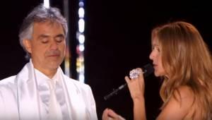 Celine Dion og Andrea Bocelli synger dette hit sammen? Du må ikke glip af det!