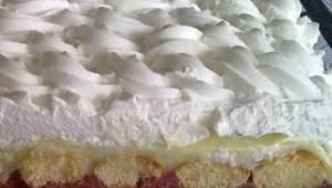 Dette er en kage, som ikke skal bages, og hvert lag er en usandsynlig sanseoplev