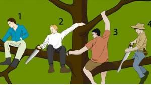 Vælg den dummeste, du kan finde på billedet ... Dit valg siger en masse om din p