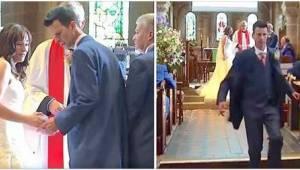 Brudgommen havde glemt at tage vielsesringene med, men... Det var bare en undsky