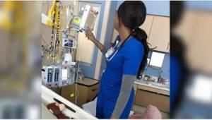 Sygeplejersken havde ikke forestillet sig, at hendes lille patients forældre sku