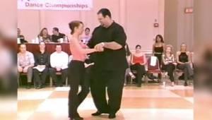 Kan man danse, hvis man er overvægtig? Svaret er her! Da han begyndte at bevæge
